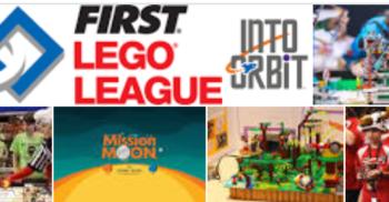 Tävlande i First Lego Leauge.