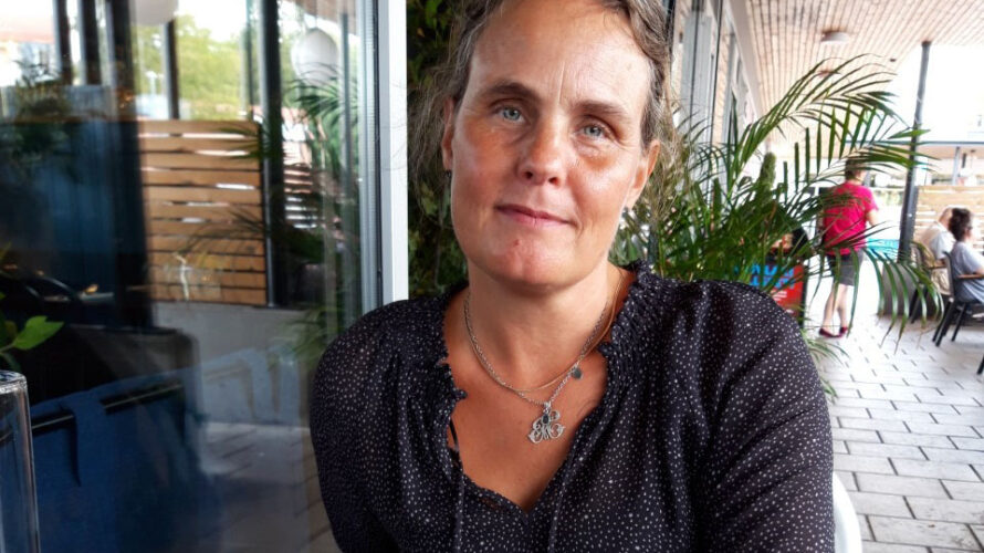 Porträttbild på Heléne Nyrén.