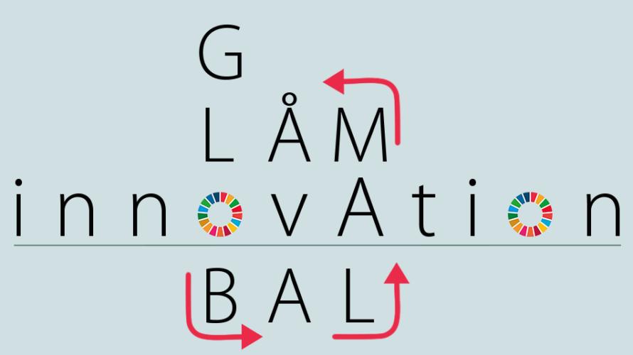 """Texten """"Innovation och globala mål""""."""