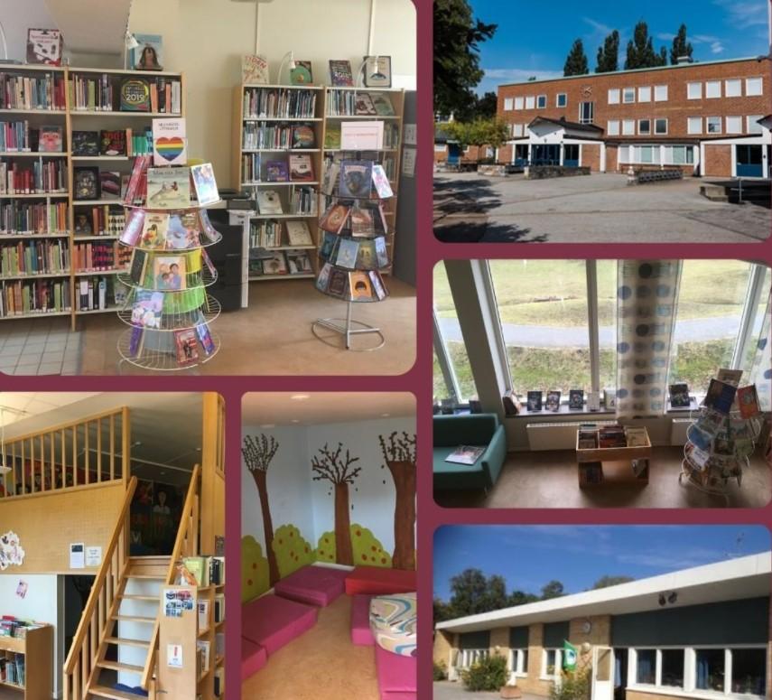 Augustenborgsskolans bibliotek.