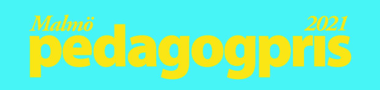 Logotyp för Malmö pedagogpris 2021.