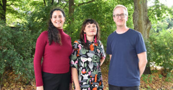 Dahlia Naji, Mette Mjöberg Tegnander och Fredrik Thunberg, redaktörer på Pedagog Malmö.