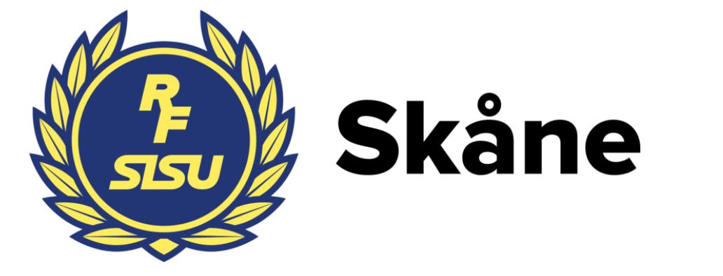 Logotyp för RF-SISU Skåne.