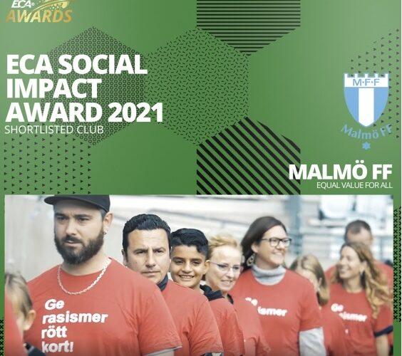 Vinnarna av Social Impact award 2021 presenteras.