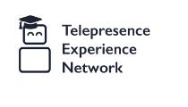 Telepresence logotyp.